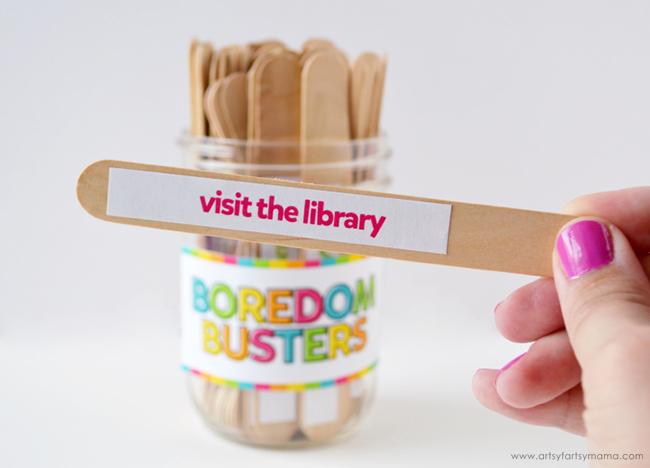 Boredom Busters Jar Stick