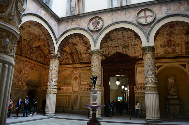cour intérieure Palazzo Vecchio
