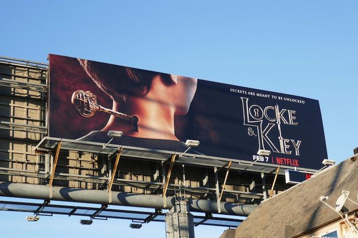 Locke and Key series billboard