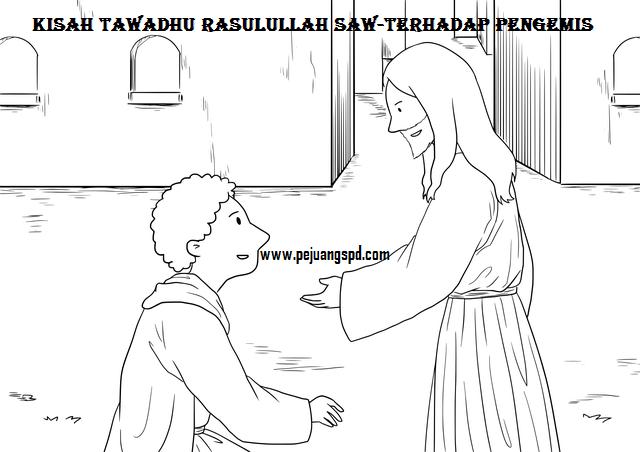 Kisah Tawadhu Rasulullah Saw-terhadap Pengemis