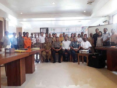 KKP Kelas II Ambon Susun Rencana Kontijensi Pelabuhan Laut Saumlaki 2019