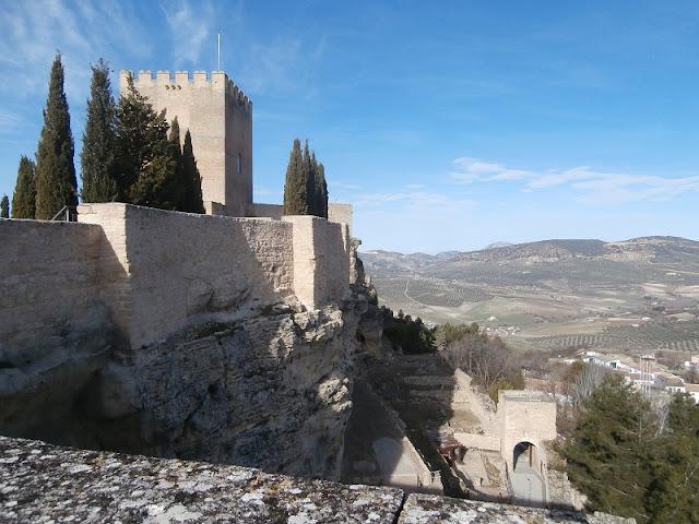 Fortress La Mota, Alcala la Real, Jaen
