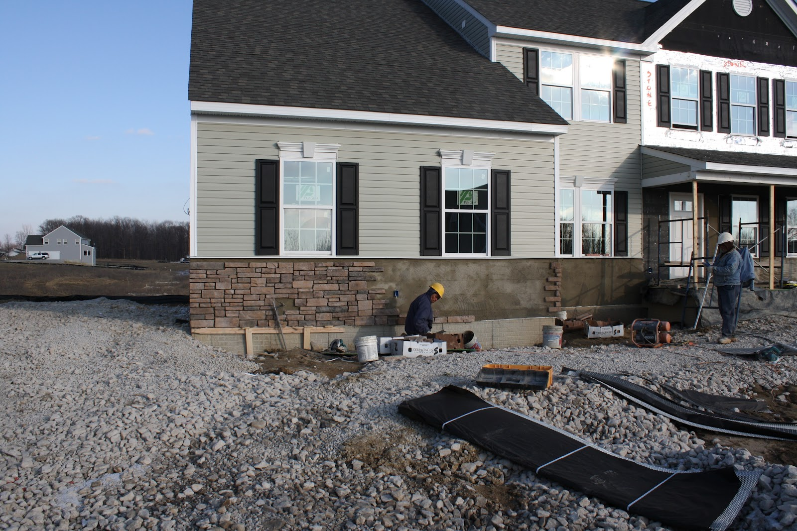Building House 2 With Ryan Homes Quot The Ravenna Quot A Lot Has