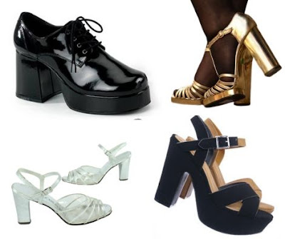1970s Fashion Trends - 70s Shoes
