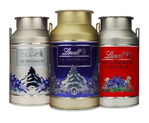 Lindt lança edição limitada de latas colecionáveis