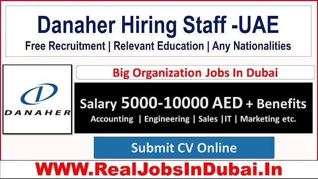 Danaher Careers Opporutunities In Dubai