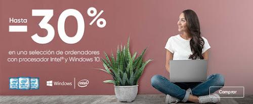 Top 5 ofertas Hasta -30% en selección de portátiles con procesador Intel y Windows 10 de Fnac