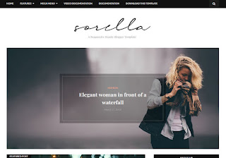 Sorella Blogger Template