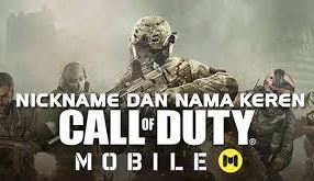 Nickname Bagus Call of Duty Mobile