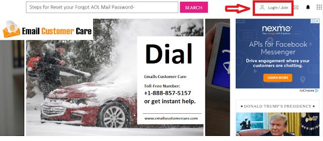 Forgot AOL Password