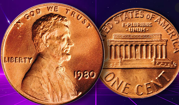 1980 penny value no mint mark