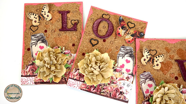 Cork Artist Trading Cards featuring Burned Hearts by Dana Tatar