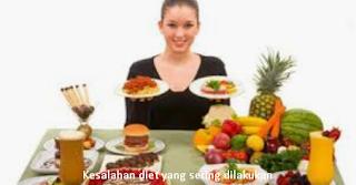 10 Kesalahan Yang Harus Dihindari Ketika Diet