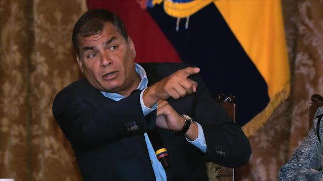 Correa: Anonymous trató de hackear los sistemas de la Presidencia