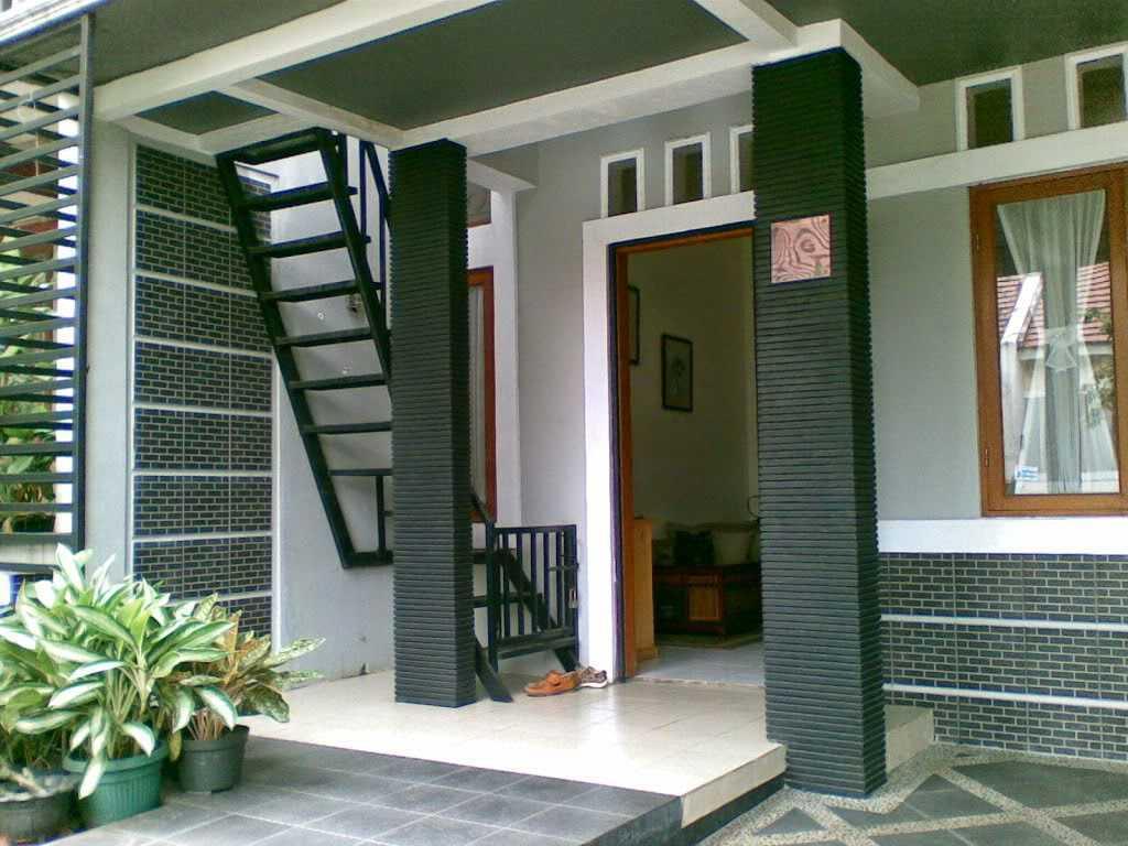 Batu Alam untuk Tiang Teras Rumah Minimalis Modern