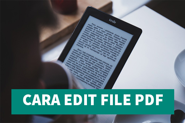 Cara Edit File PDF