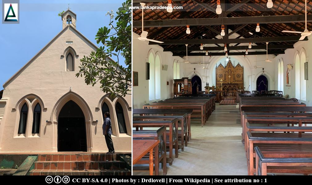 St. Thomas' Church, Ginthupitiya