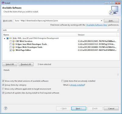 Eclipse - HTML Editor Plugin ~ Technology Mashup