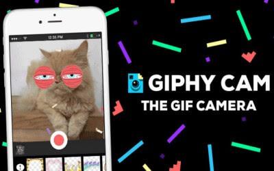 تطبيق giphy cam