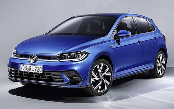 Novo VW Polo 2022 com facelift: fotos oficiais divulgadas