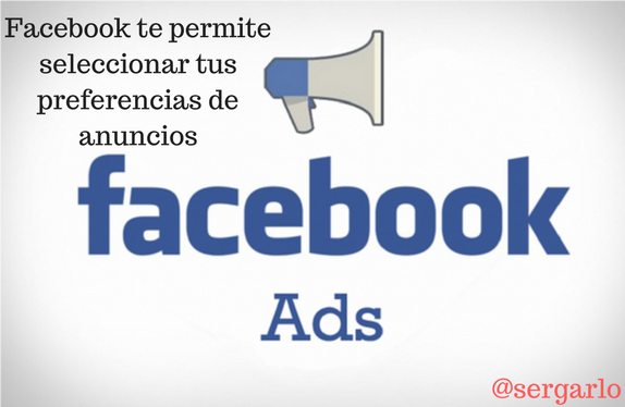 Facebook, ads, anuncios, preferencias