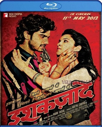 Free Download Ishaqzaade 2012 Hindi 720p BluRay 950mb