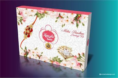 Rakhi sweet box design