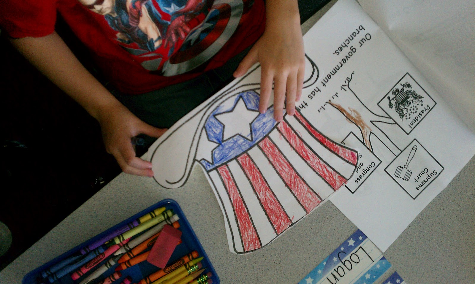 Adventures In Kindergarten Constitution Day