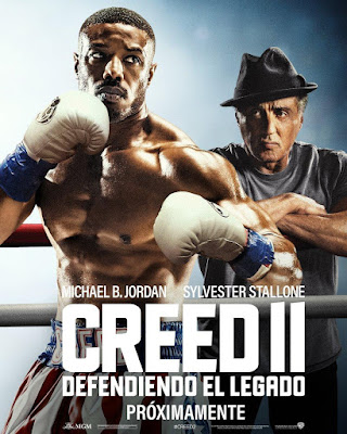 Creed II 2018 DVD R1 NTSC Latino