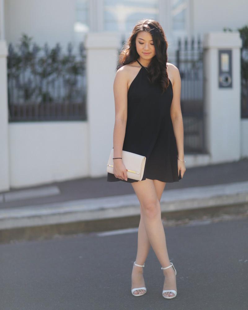 OOTD Little balck dress cantik untuk remaja putri