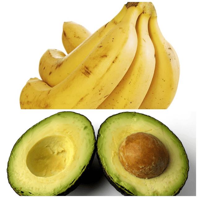 وصفة الموز و الأفوكادو للشعر