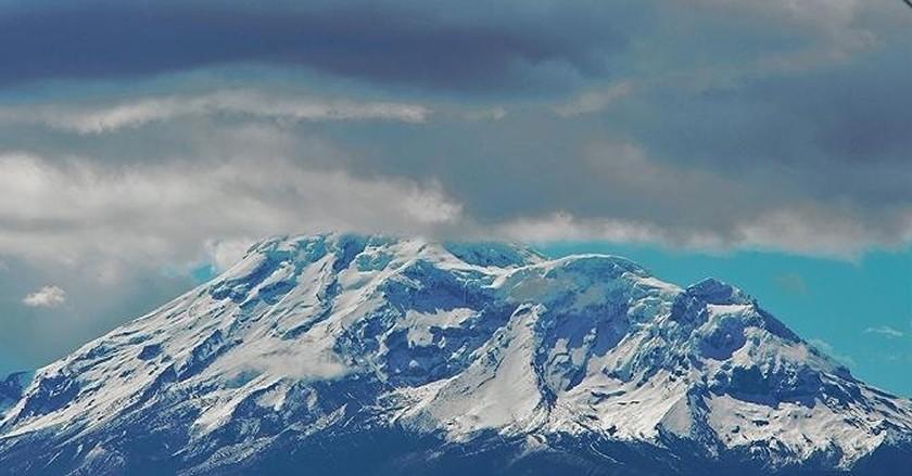 Chimborazo Volcano, the World's highest mountain