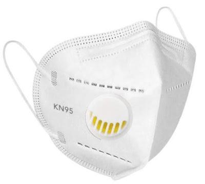 Предпазна маска KN95 - FFP2 за многократна употреба