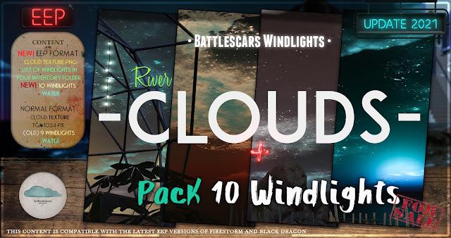 NEW RELEASE: BattleScars Windlights - STARS - RIVER 2.0 (PREMIUM) (EEP & NO EEP)