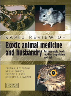 Rapid Review of Exotic Animal Medicine and Husbandry – Pet Mammals, Birds, Reptiles, Amphibians and Fish