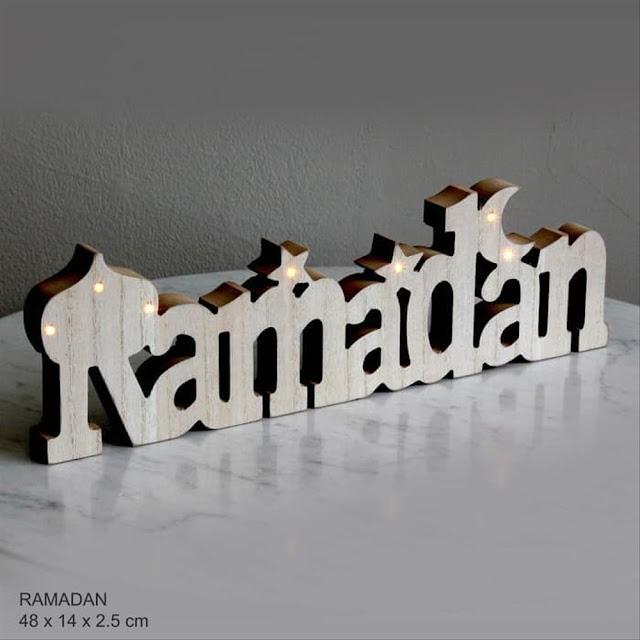 Dekorasi Ramadhan Lampu Kecil