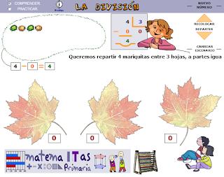 http://ntic.educacion.es/w3/eos/MaterialesEducativos/mem2008/matematicas_primaria/numeracion/operaciones/ilustradivi.swf