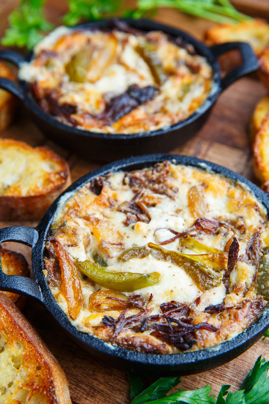 Pot Roast Beef Philly Cheese Steak Dip
