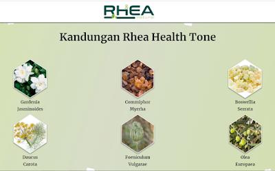 kandungan Rhea Health Tone
