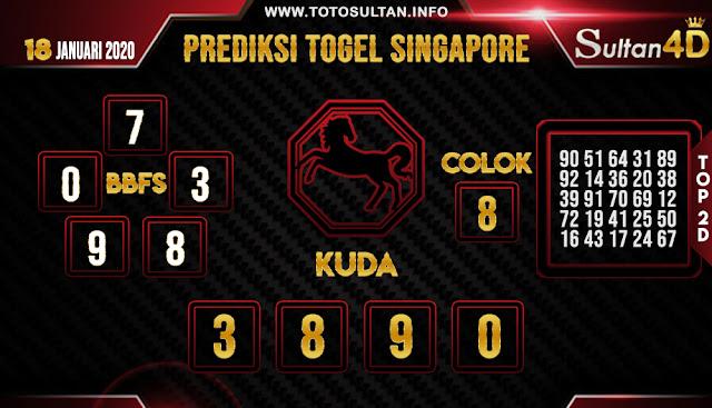 PREDIKSI TOGEL SINGAPORE SULTAN4D 16 JANUARI 2020