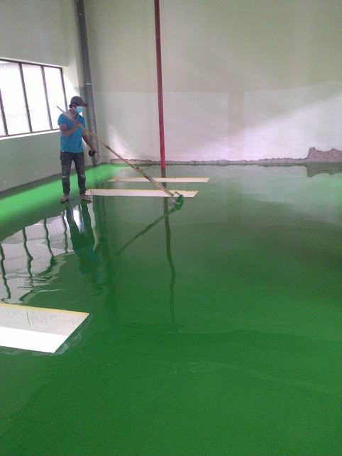 Thành phần cơ bản của sơn epoxy