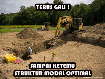 teori struktur modal tradisional