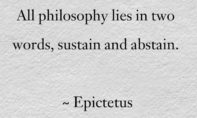 Epictetus philosophy  Quotes
