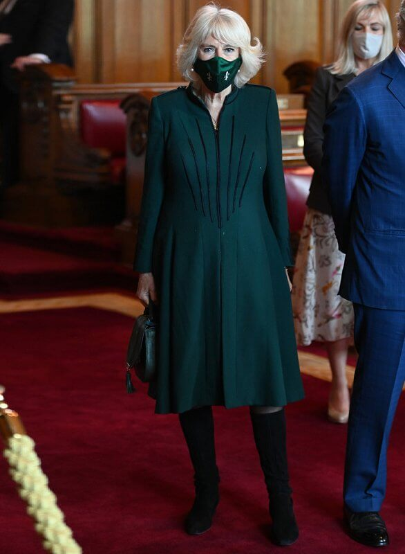 The Duchess wore a green dress. Belfast become a UNESCO City of Music by 2023