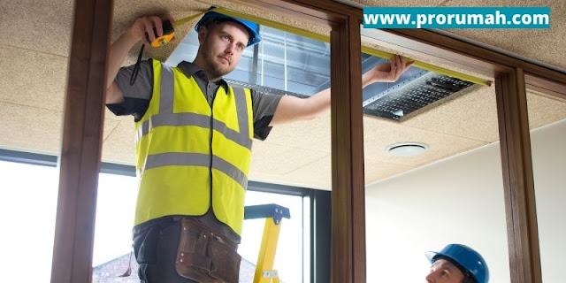 plafon kayu mudah dipasang