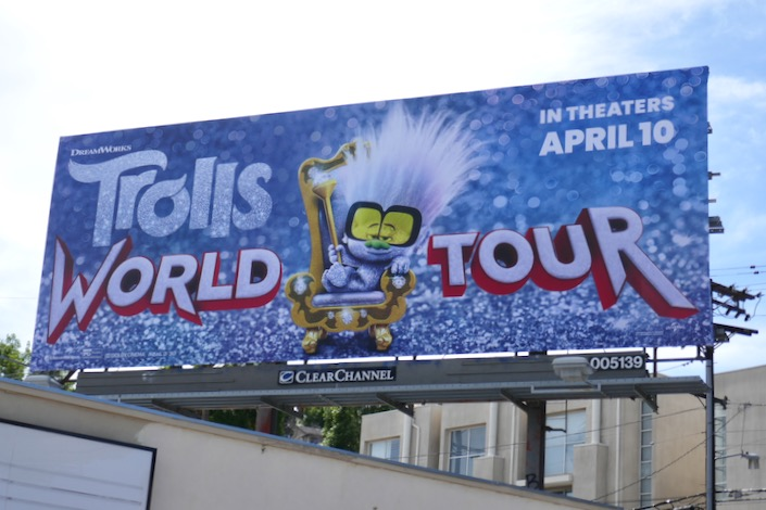 Trolls World Tour billboard