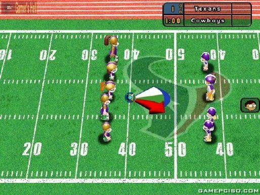 Download Backyard Football backyard football 09 - download game pc iso new free