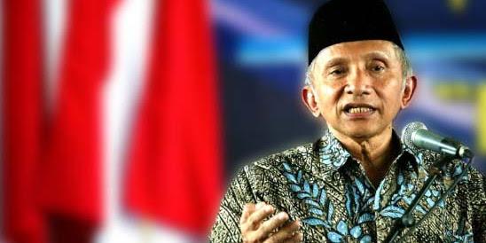 Amien Rais: Kekayaan Indonesia Dikuasai Asing Secara Absolut
