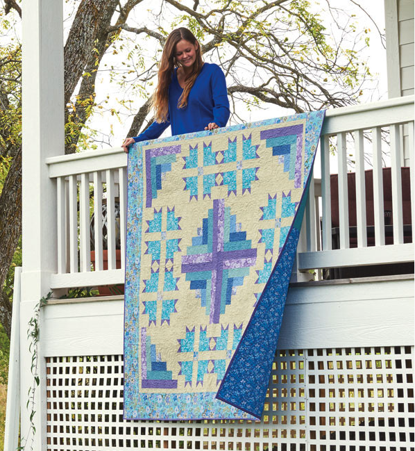 Inspired By Fabric Hello Spring Cabins Of Carolina Quilt