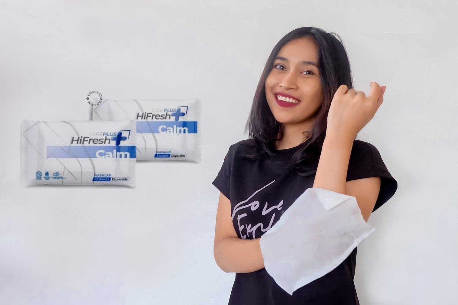 Cara Pakai Careplus HiFresh Washlap Antiseptik